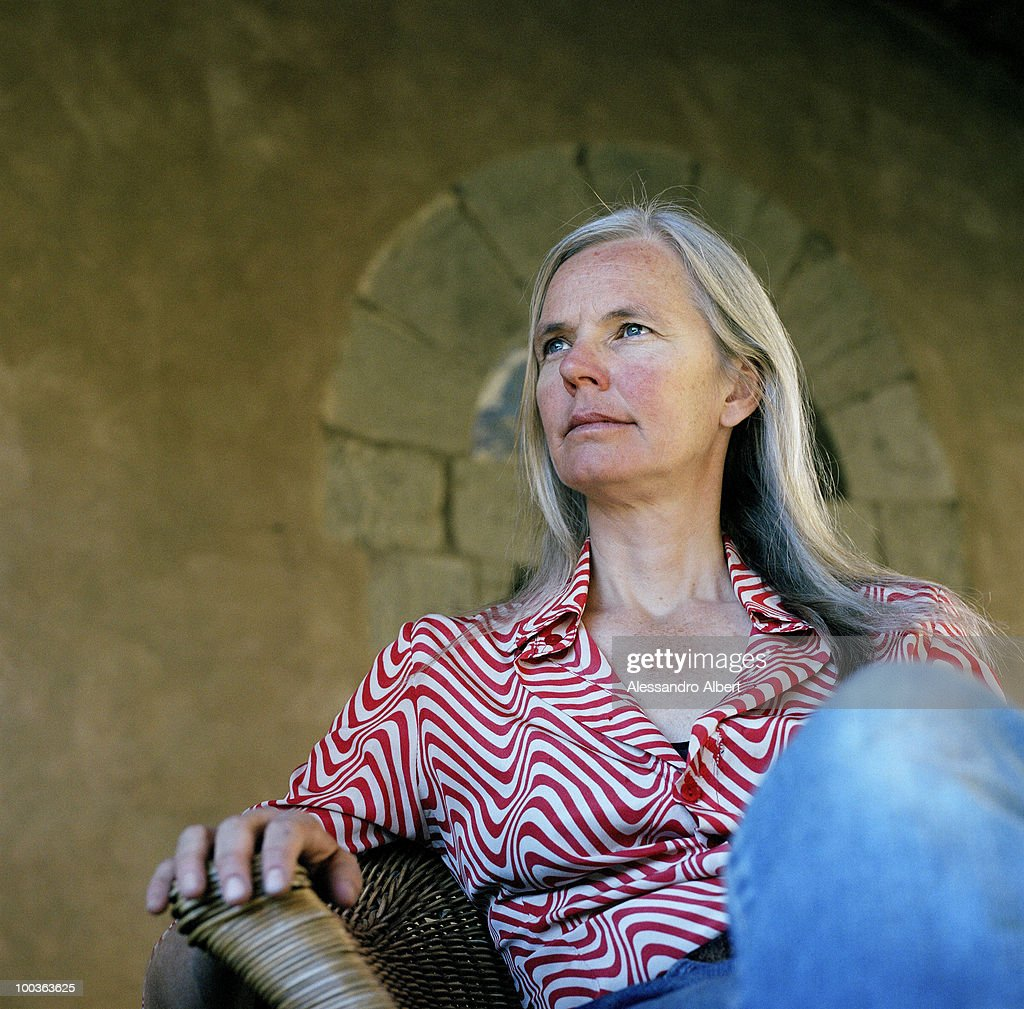 The parent of the writer Graham Greene, Charlotte Greene poses for a portraits session in the Potentino Castle on September 12, 2006 in Seggiano, Grosseto, Italy