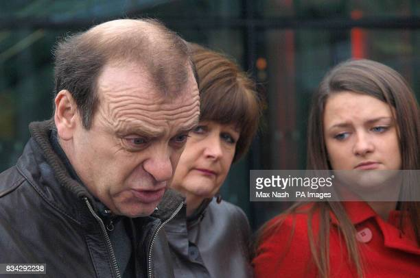 The parents and sister of murdered British teacher Lindsay Ann Hawker from Brandon near Coventry, Bill and Julia Hawker and Louise Hawker answer...