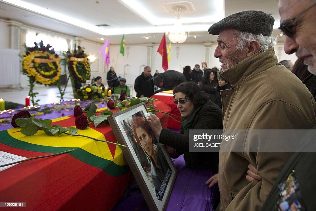 FRANCE-IRAQ-KURDS-TURKEY-MURDERS : News Photo