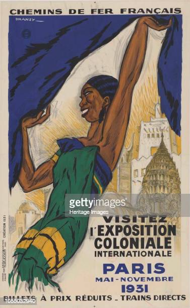 The Paris Colonial Exhibition 1931 Private Collection Artist Dransy Jules Isnard