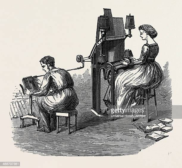 Delcambre's Type Composing Machine France 1867