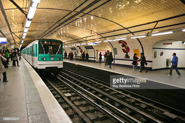 The Paris Métro or Métropolitain is the rapid transit Metro system in Paris, France. It has become a symbol of the city, noted for its density within...