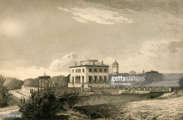 The Park Brighton' 1835 Queens Park previously Brighton Park was owned by Thomas Attree who commissioned Charles Barry to design an Italianate villa...