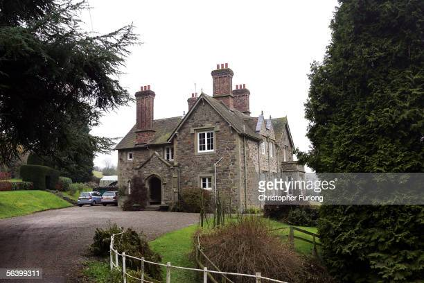 BISHOP's CASTLE UNITED KINGDOM DECEMBER 09 The Park House English language centre is pictured in the countryside town of Bishop's Castle where former...