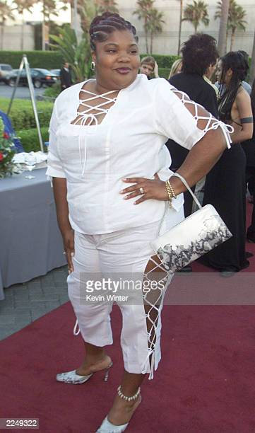 'The Parkers' Mo'Nique at UPN's summer tour party for the Television Critics Association at Paramount Studios in Los Angeles, Ca. 7/16/01. Photo by...