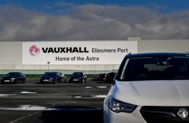 GBR: Vauxhall Auto Plant as Post-Brexit Supply Threatens Stellantis U.K. Future