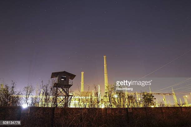The Parli Thermal Power Station stands at Parli Vaijnath in Beed district Maharashtra India on Friday April 15 2016 Hundreds of millions of people in...