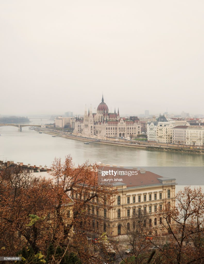 The Parliament House, Budapest, Hungary : Stock Photo