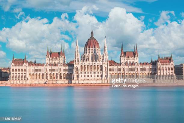 the parliament of hungary in budapest - hungary stock pictures, royalty-free photos & images