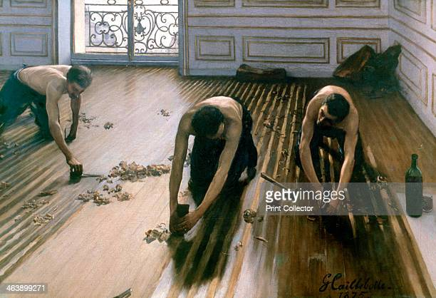 'The Parquet Planers' 1875 From the collection of the Musee d'Orsay Paris France