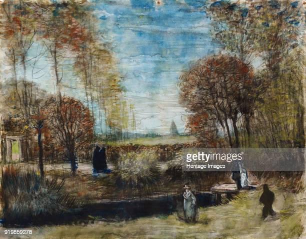 The Parsonage Garden at Nuenen 1885 Found in the collection of Het Noordbrabants Museum sHertogenboschFine Art Images/Heritage Images/Getty Images