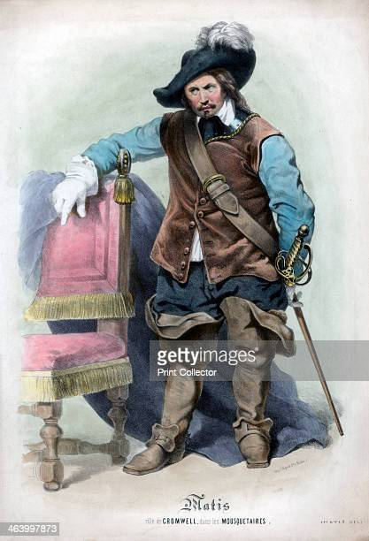 The part of Cromwell in the Musketeers Oliver Cromwell leader of the parliamentarians during the English Civil War