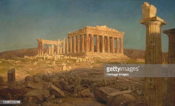 The Parthenon, 1871. Artist Frederic Edwin Church.