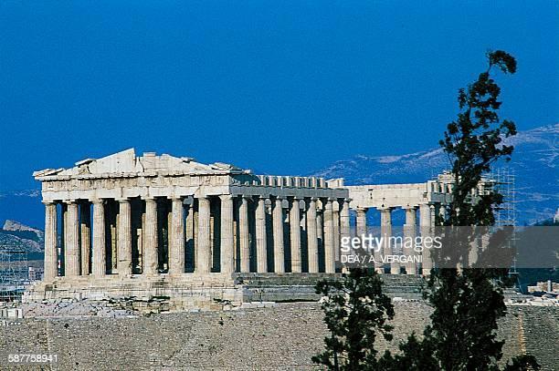 The Parthenon Acropolis of Athens Greece Greek civilisation 5th century BC