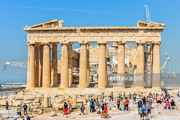 The Parthenon at the Acropolis - Athens, Greece