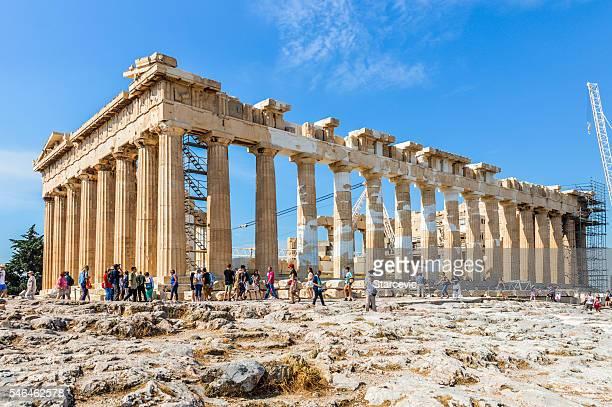 The Parthenon at the Acropolis - Athens, Greece