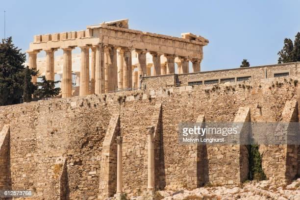 The Parthenon at the Acropolis, Athens, Greece