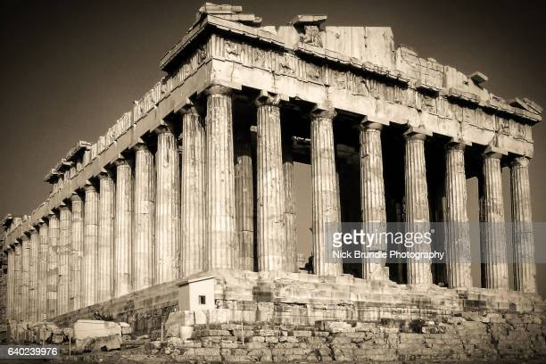 the parthenon, athens, greece - ancient greece photos stock pictures, royalty-free photos & images