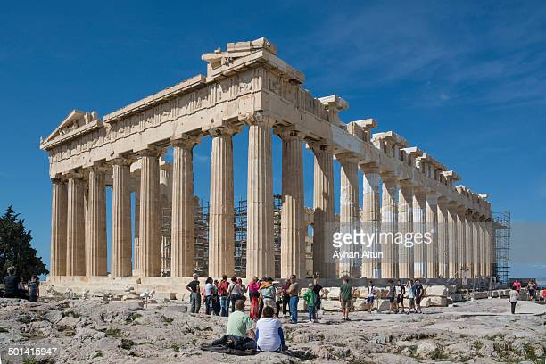 CONTENT] The Parthenon is a temple on the Athenian Acropolis Greece dedicated to the goddess Athena