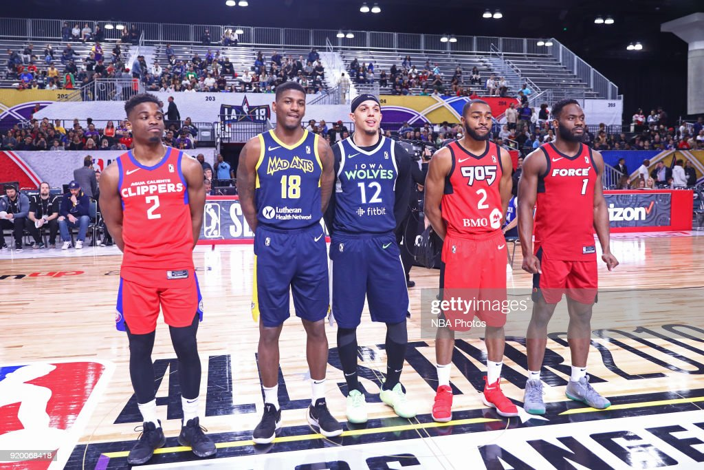 2018 NBA G-League Slam Dunk