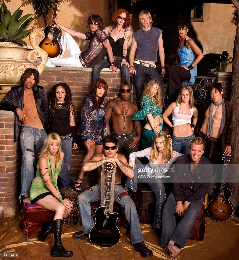 The participants of the CBS reality show News Photo