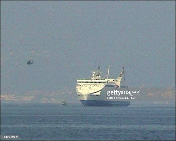 The Pascal Paoli under escort to Toulon