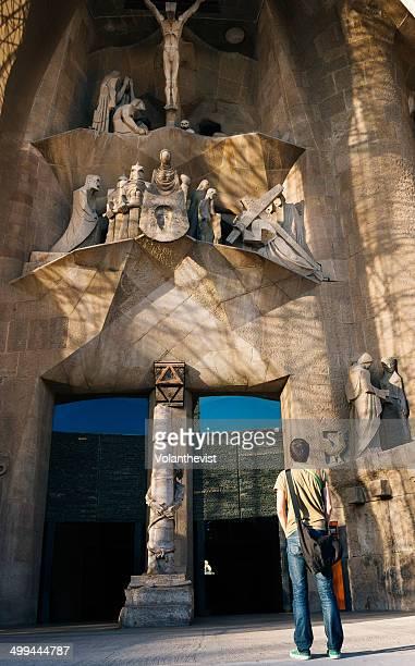 The Passion Façade of Gaudi's Sagrada Familia