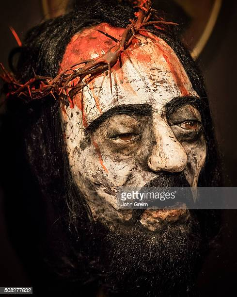 The Passion of Christ figure with crown of thorns