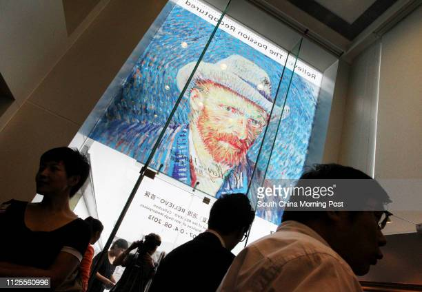Gallery by the Harbour presents Debut of the RELIEVO Collection of Van Gogh Masterpieces Personal appearance by a Van Gogh at Harbour City Tsim Sha...