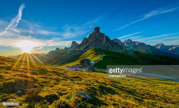Le Passo di Giau, montagnes des Dolomites