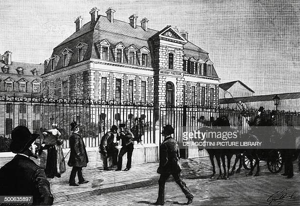 The Pasteur Institute in Paris which opened November 14 engraving France 19th century