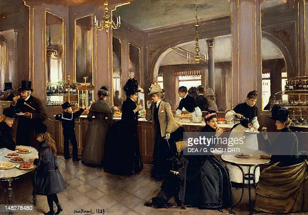 The pastry shop at ChampsElysees by Jean Beraud Paris Hôtel Carnavalet