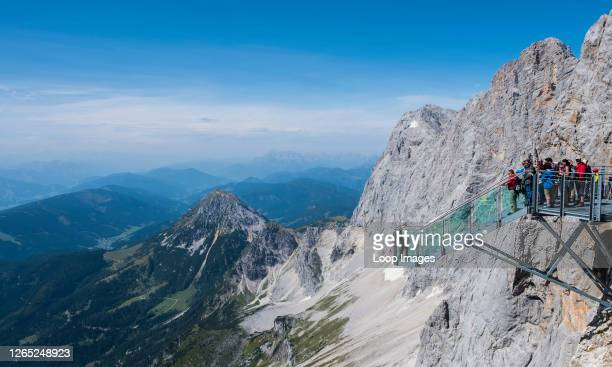 The Path To Nothingness on the Hoher Dachstein in Austria.