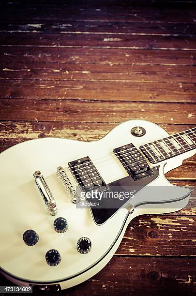 les paul guitar - classic rock stock pictures, royalty-free photos & images