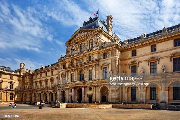 The Pavilion de Marengo in the Old Louvre Palace Complex, Paris , France
