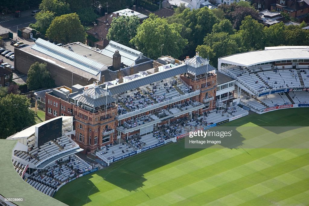 The Pavilion, Lords Cricket Ground, St John's Wood, London, 2006 : News Photo