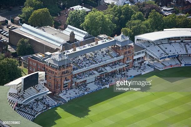 The Pavilion Lords Cricket Ground St John's Wood London 2006 Founded on this site in 1814 the Home of Cricket is owned by the Marylebone Cricket Club...