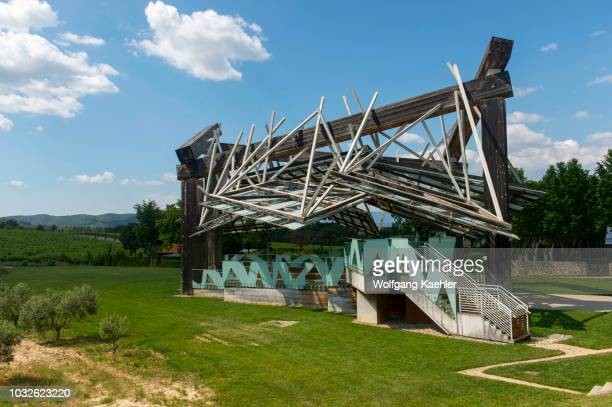 The Pavillon de Musique by Frank O Gehry at the Chateau la Coste near AixenProvence in the Provence France