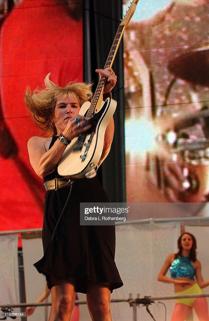 The Paybacks during Little Steven's Underground Garage Festival Presented by Dunkin' Donuts - Show - August 14, 2004 at Randall's Island in New York City, New York, United States.