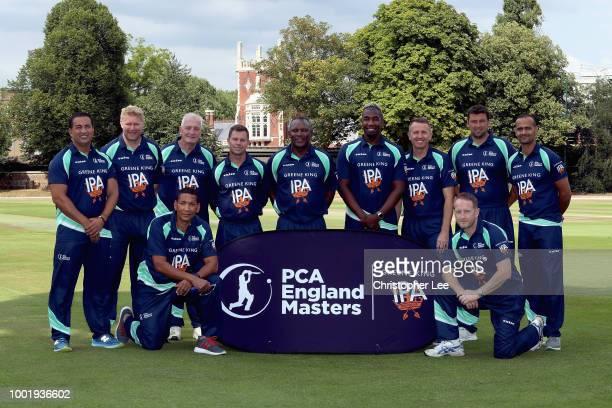 The PCA England Masters team of Alex Tudor Ali Brown Dominic Cork Phil DeFreitas John Emburey Steve Harmison Matthew Hoggard Adam Hollioake Geraint...