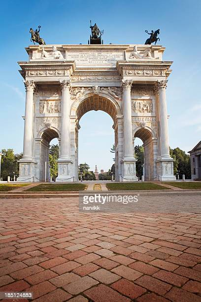 The Peace Arch in Milan