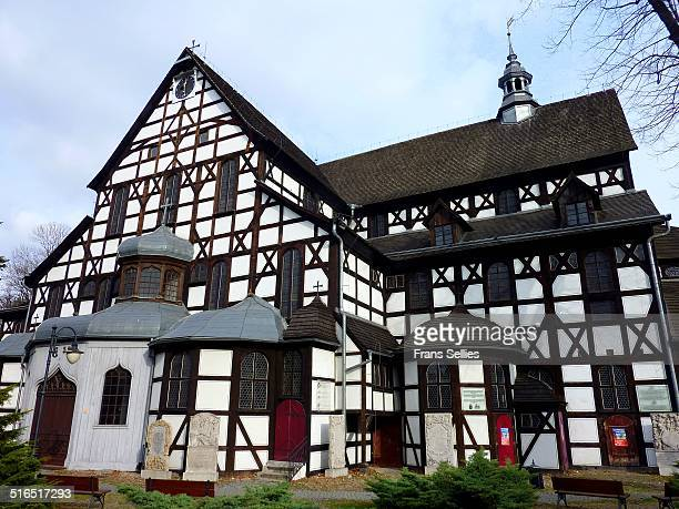 the peace church in swidnica, poland - frans sellies stockfoto's en -beelden