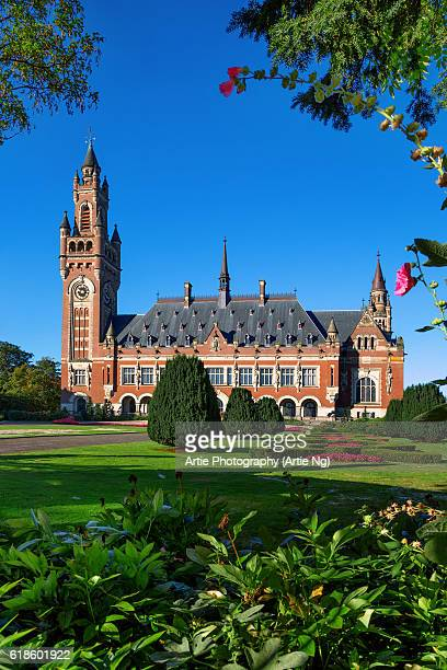 The Peace Palace in The Hague, the Netherlands