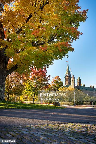 The Peace Tower and Parliament Buldings in Autumn