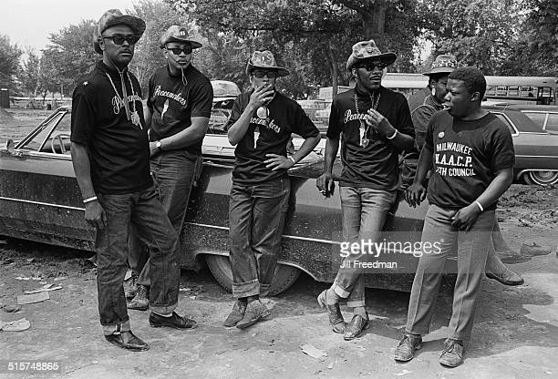 The Peacemakers a community group who kept order in Resurrection City in Washington DC during the Poor People's Campaign 1968