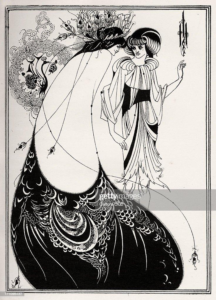from Jerome beardsley the peacock skirt