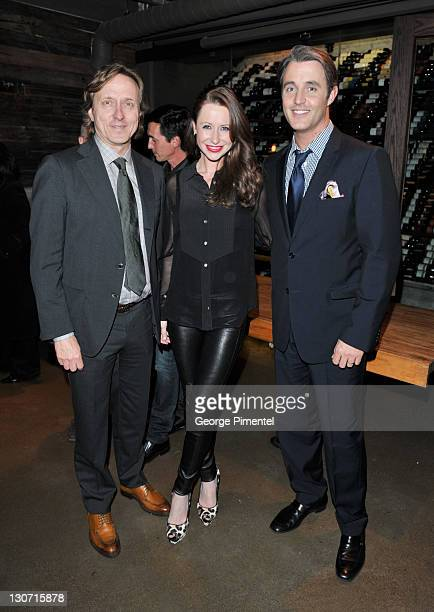 The Pearl Morissette Estate Winery Mel Pearl Jessica Mulroney and Ben Mulroney attend the Goodbye Toronto/Hello Broadway Private Lives Supper Hosted...