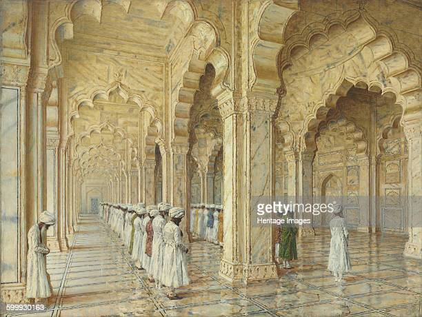The Pearl Mosque at Agra End of 1870sEarly 1880s Private Collection Artist Vereshchagin Vasili Vasilyevich