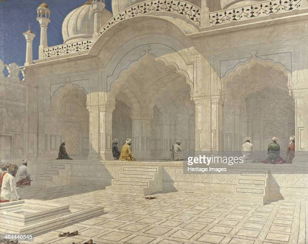 The Pearl Mosque Delhi 1880s From a private collection
