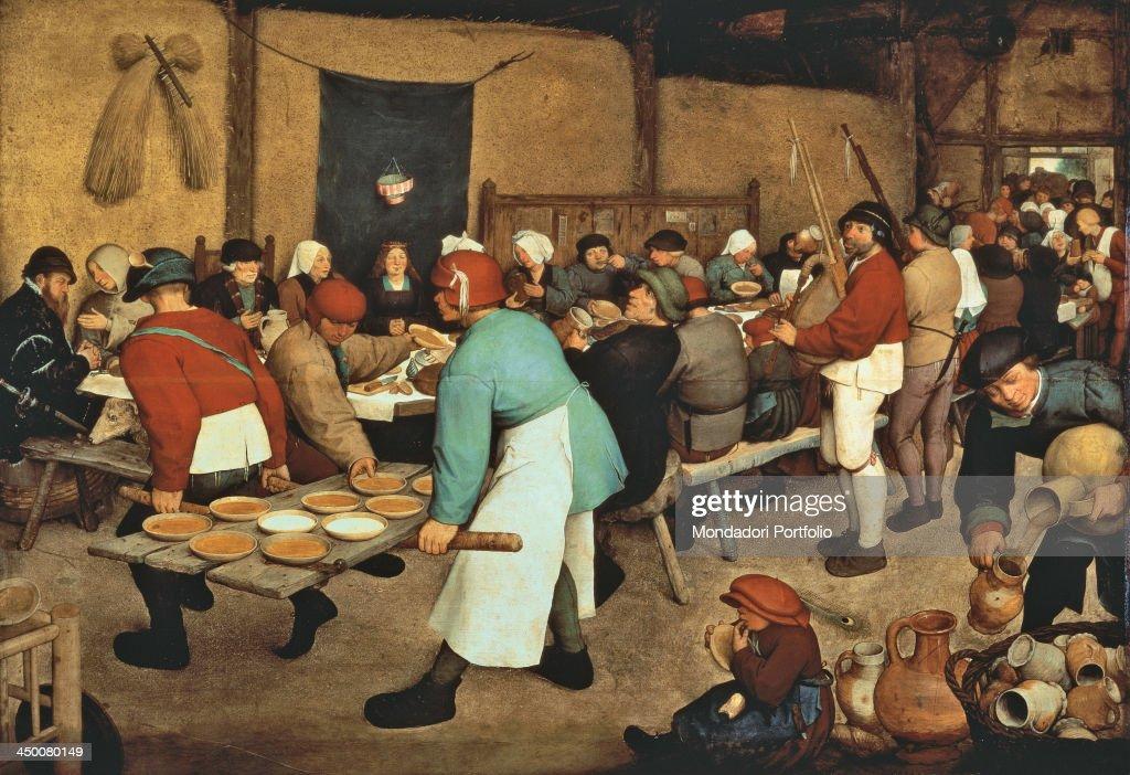 The Peasant Wedding By Pieter Bruegel Elder 1567 1568 16th Century